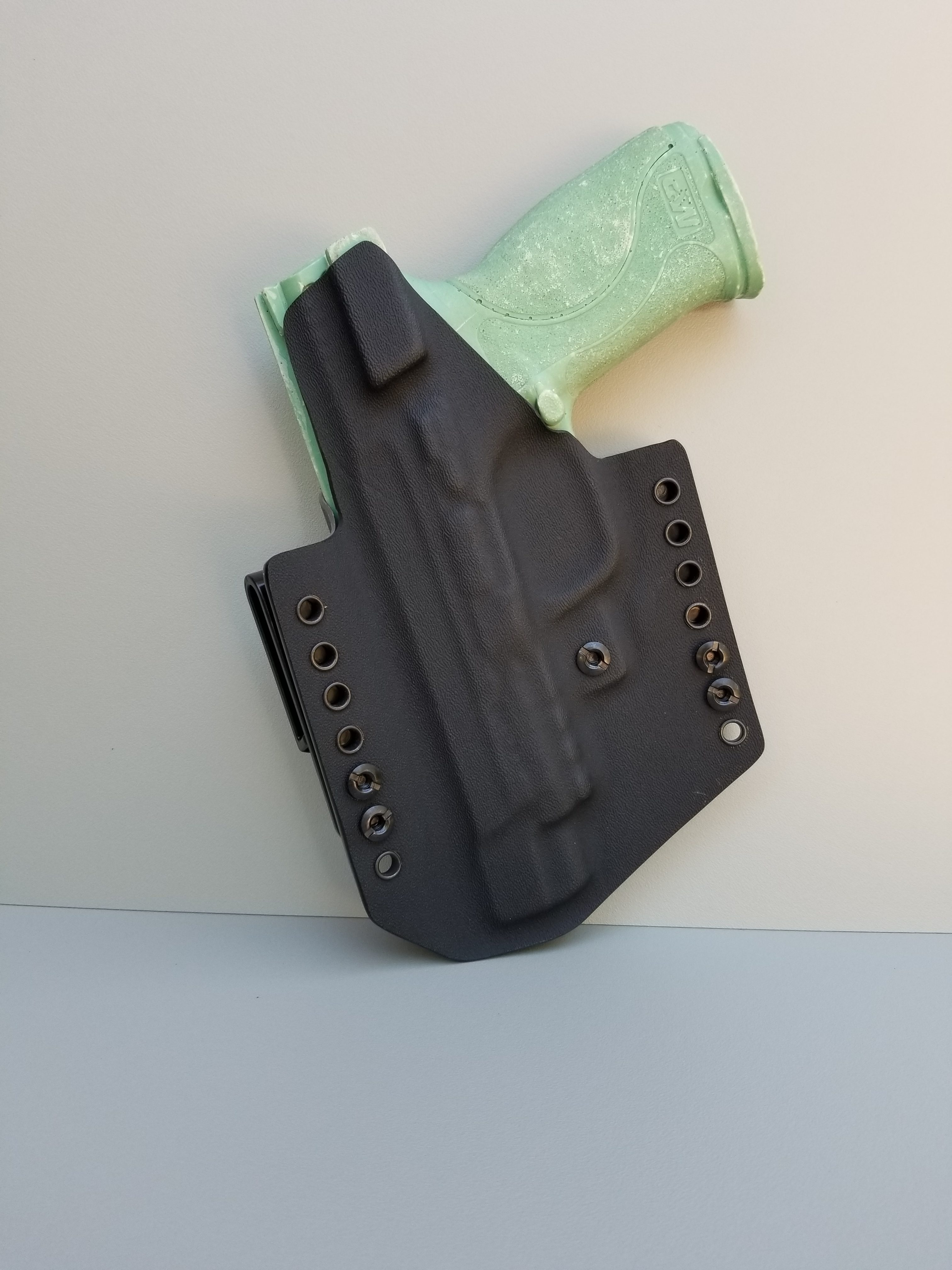 Black Nestor Holster & Double Mag Pouch Bundle - OWB or IWB