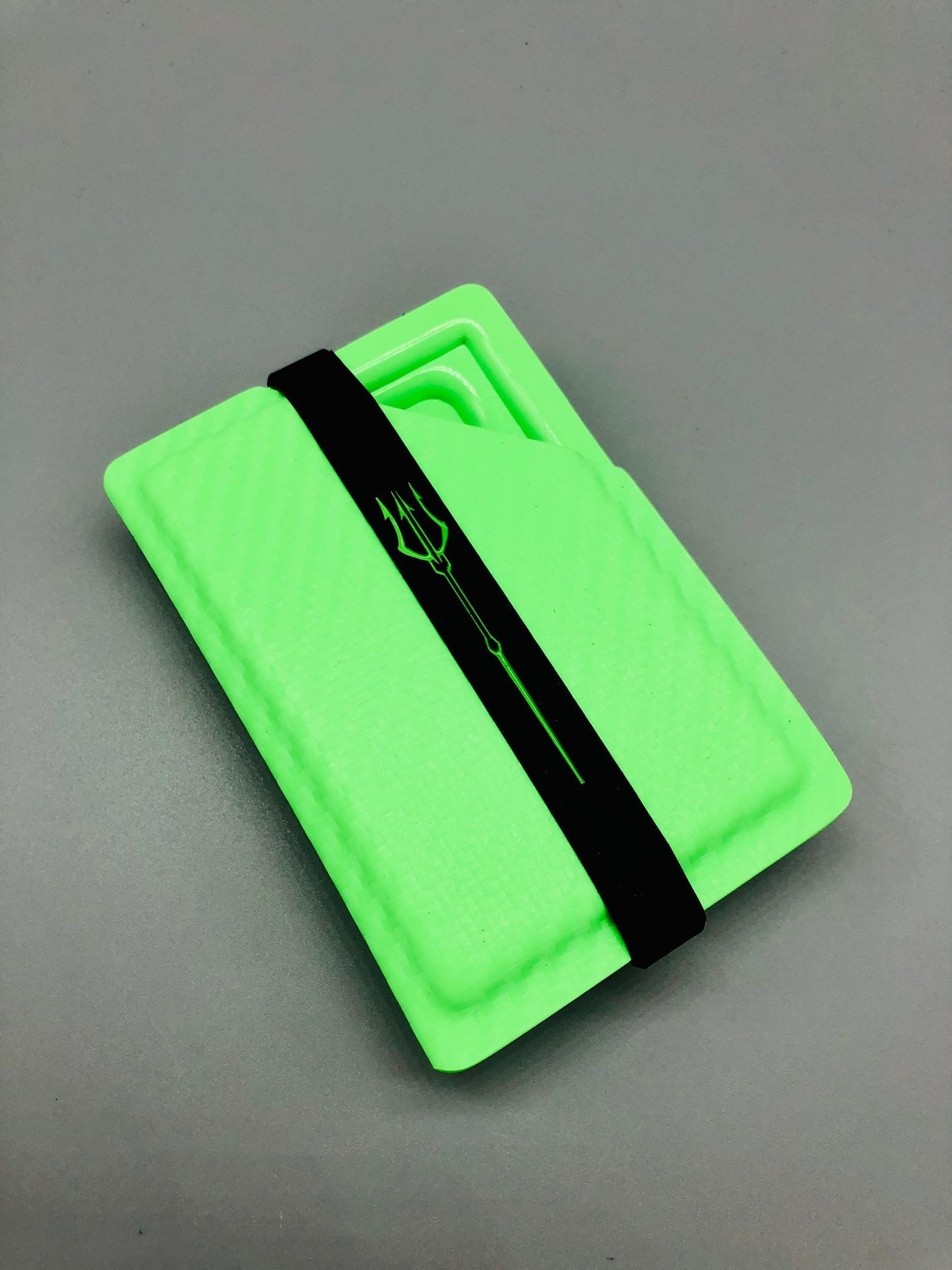 OD Green Carbon Fiber Kydex Money Clip ~By WP~